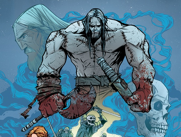 "The latest title from ""The Sixth Gun' co-creator Cullen Bunn, who's going from cowboys to vikings in ""Helheim"" at Oni Press. And to tell his story of hellhounds, witches, the living dead, and heav metal album cover-ready vikings, he's enlisted artist Joëlle Jones. The story opens with a band of vikings caught in between a battle of wills of two witches--and Jones has made a departure from dames and romance to murder in the frozen waste with glee, as you'll find in this interview from ECCC."