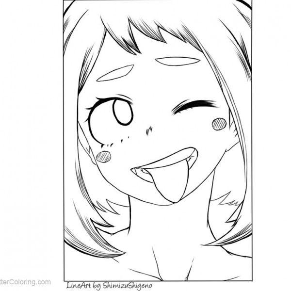 Boku No Hero Academia Shouto Todoroki Coloring Pages By Kohaku Art Free Printable Coloring Pages Coloring Pages Anime Lineart Free Printable Coloring Pages