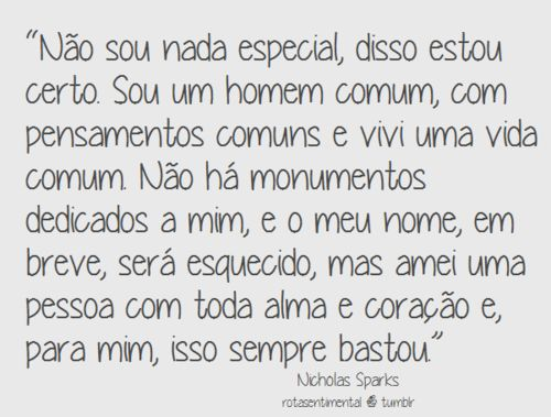 frases de nicholas sparks para fotos - Google Search
