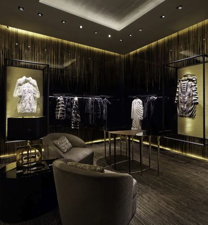 FENDI Montenapoleone, Milan, Italy | Retail Interior Design, Retail Design #luxuryretailstores #retailfurniture #retailinteriordesign See more retail projects http://brabbucontract.com/projects