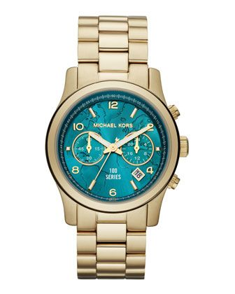 This is a beautiful watch and it's for a great cause. I just wish I had the money to buy one. Michael Kors Watch Hunger Stop Mid-Size 100 Series Watch.
