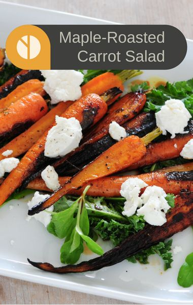 Ina Garten's Maple-Roasted Carrot Salad may soon be your go-to appetizer to serve your guests. As Clinton Kelly said on 'The Chew' it's practically impossible to fail at an Ina recipe!