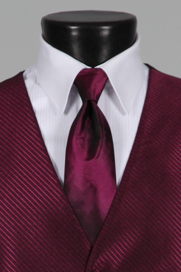 Sangria And Burgundy Wedding Colors Tuxedo Accessories