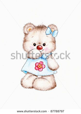 Stock Images similar to ID 114655597 - teddy bear with flower                                                                                                                                                                                 Mais