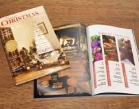 Christmas Magazine Editorial Design, Typography