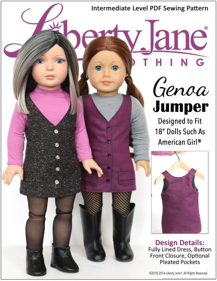 """Genoa Jumper 18"""" Doll Clothes"""