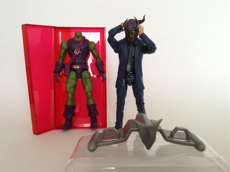 #Custom#Marvel#Legends #Green Goblin#Norman#Osborn #Sinister 6 #Enemy of#Spider-Man (#Action#Figure)