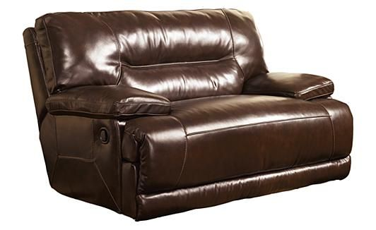 Exhilaration - Chocolate Oversized Recliner. I want 2 of these in our LR when we remodel. No more couch :p