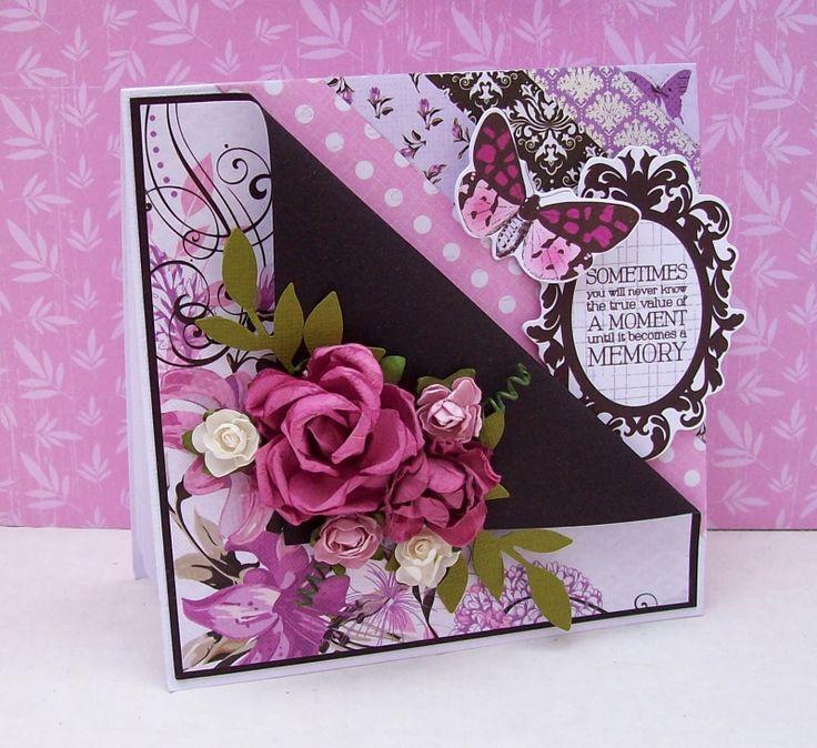 Artfull Crafts: Betsy - Violet Crush Cards