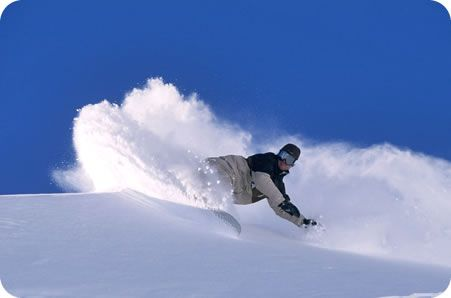 Snowboarding Carving