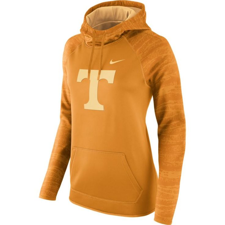 Nike Women's Tennessee Volunteers Tennessee Orange All Time Therma-FIT Hoodie, Size: Medium, Team