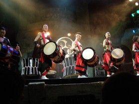 """Как японцы калинку-малинку в Уфе танцевали. Японские барабанщики """"Аска"""" в """"Огнях Уфы""""."""