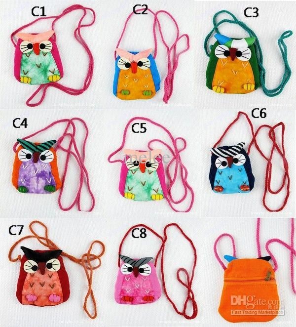 Wholesale Christmas Baby Owl Bags Baby Crochet Handbag Cute Owl Bag Cat Bag Girls Girl Kids Handmade Bags Kids, Free shipping, $1.96-3.38/Piece | DHgate