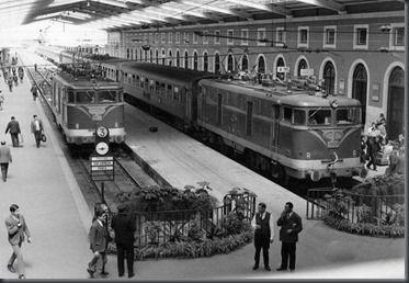 Estação de Santa Apolónia, anos 60 Portugal