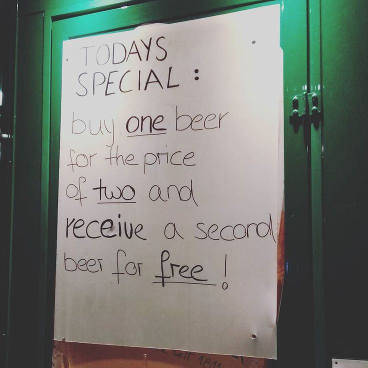 I think i get it ... I get it ... I ... Nope don't get it   Mehr auf http://ift.tt/2fJHY36  #der_handbetrieb #sign #funny #funnymemes #meme #beer #drink #party #out #bar #drinking #pub