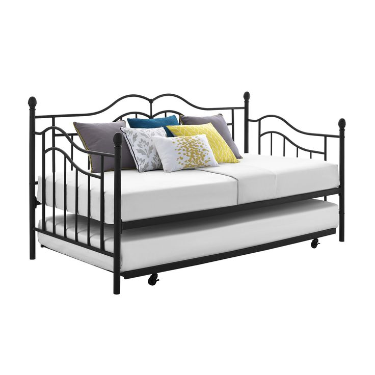 17 Best Ideas About Metal Daybed With Trundle On Pinterest