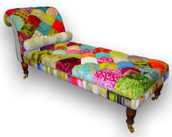 25 beste idee n over chaise longue alleen op pinterest for Chaise patchwork