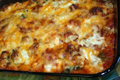 Auntie Betty's Pasta and Ground Beef Casserole -Mennonite Girls Can Cook: