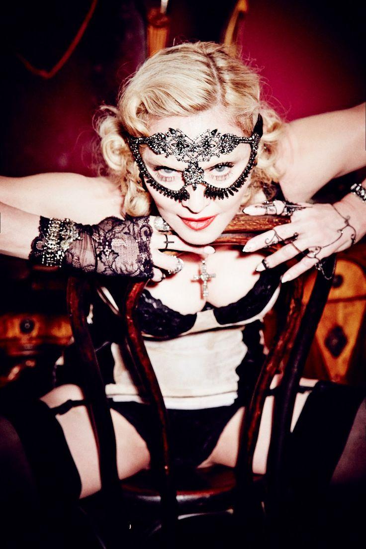 LUPIN4TH MAGAZINE: Madonna si fa in 4 per le cover di Cosmopolitan: f...