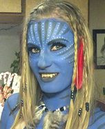 Homemade Costumes for Women - about 300 Costume Photo Gallery including an Avatar Halloween Costume