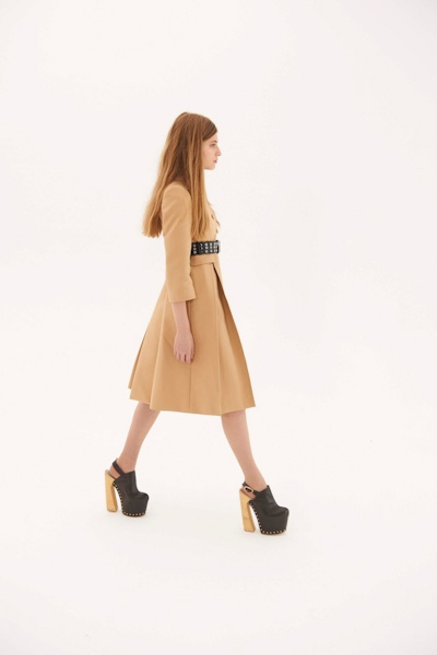 Camel Swing dress  OC x LFW: High Time for High Tea with Charles Anastase