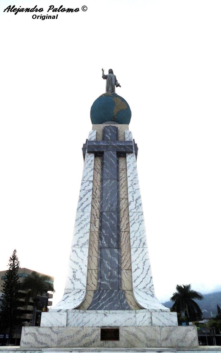 El Salvador del Mundo, El Salvador | I come from two beautiful Central American countries!! #Jesus #worldsavior