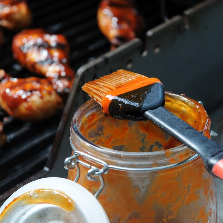Simply Gourmet…home made bbq sauce. Wonderful tastes without all the chemicals of the processed, canned stuff!