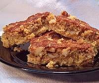 Image of Cinnamon Walnut Cake Mix Bars
