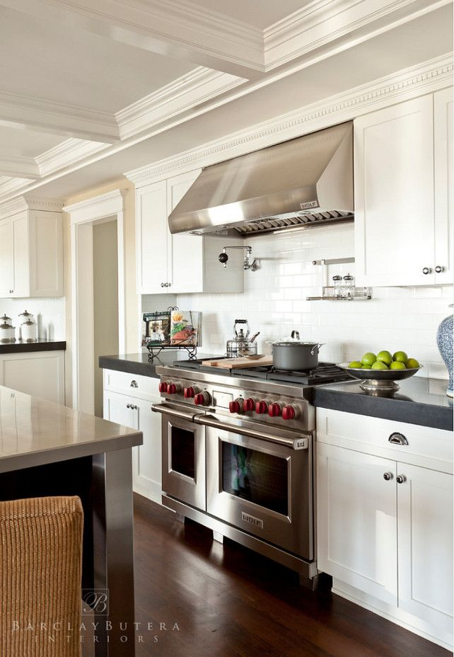Kitchens On Pinterest Countertops Galley Kitchens And White