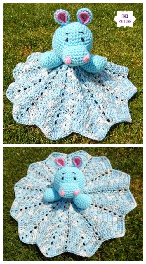 Hippo Lovey Blanket Free Crochet Pattern – 2019 Inspirational Throw