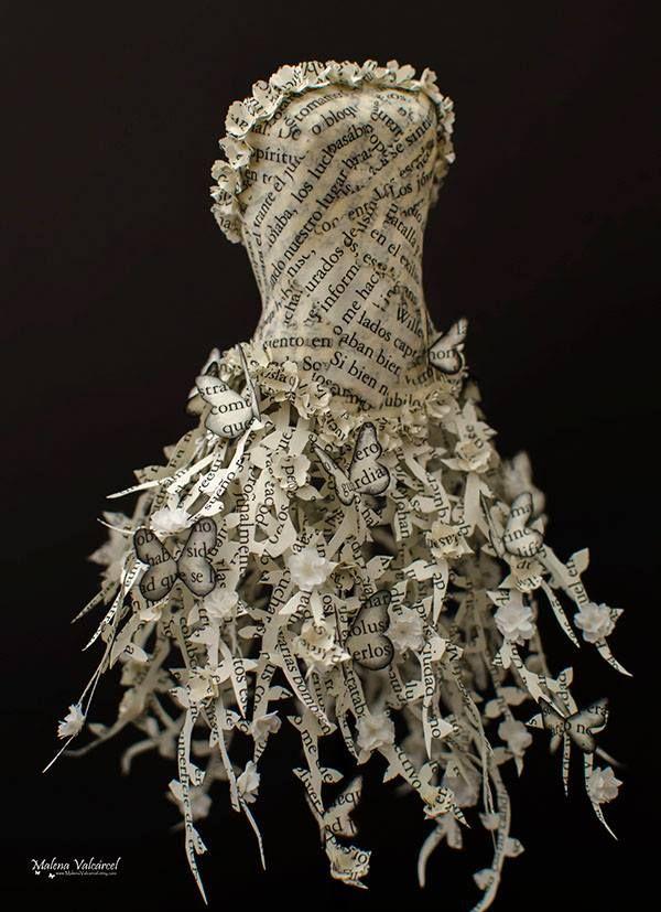 Paper Sculptures by Malena Valcárcel                                                                                                                                                                                 More