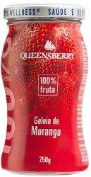 Geleia Queensberry de Morango 100% Fruta.