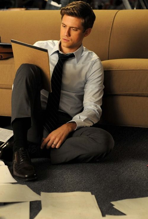 "Aaron Tveit. Almost accidentally pinned this to ""wishlist"" I mean... it could work there too!<<< lol"