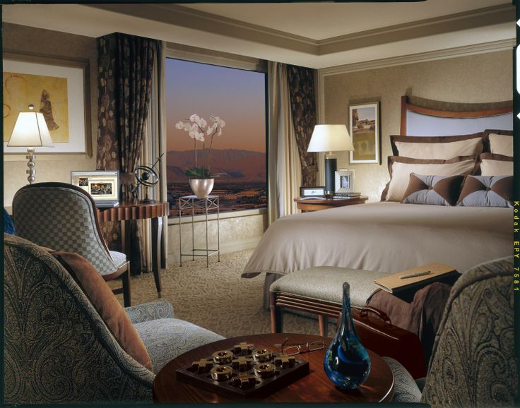 Bellagio hotel room