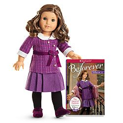 √ (not Rebecca but a truly me AG doll) American Girl® Dolls: Rebecca® Doll & Paperback Book