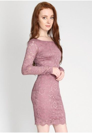 Dinner For Two Lace Dress  at shopruche.com