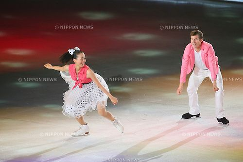 (L to R)  Mao Asada (JPN),  Jeffrey Buttle,  JULY 27, 2013 - Figure Skating :  LOTTE presents THE ICE 2013  at Osaka Municipal Central Gymnasium, Osaka, Japan.  (Photo by YUTAKA/AFLO SPORT) [1040]