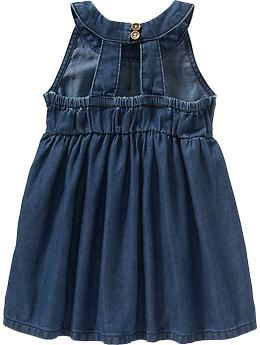 Sleeveless Denim Dresses for Baby | Old Navy