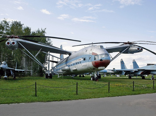 "Mil Mi-12 ""Homer"". Largest Helicopter ever built."