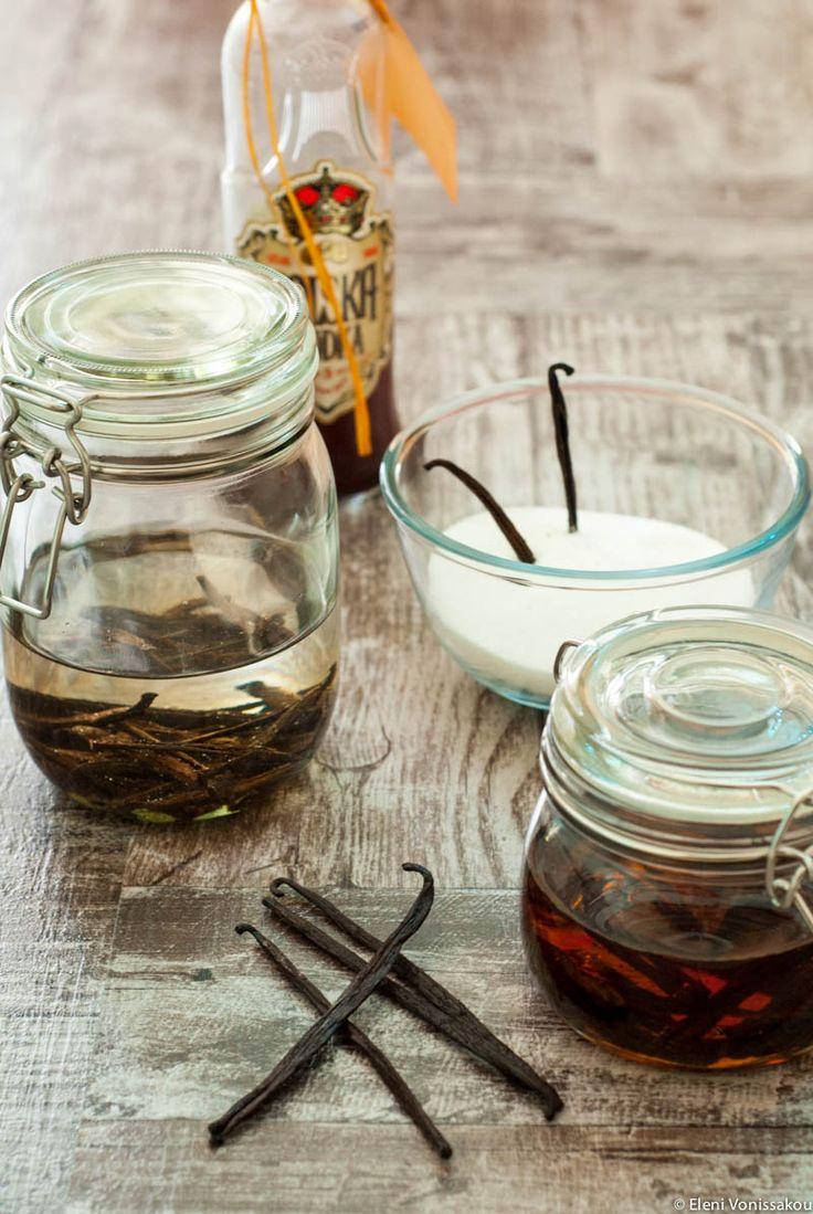 Σπιτικό Εκχύλισμα Βανίλιας - Homemade Vanilla Extract (in Greek). Στο The Foodie Corner www.thefoodiecorner.gr