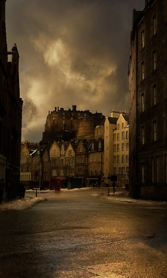 Grassmarket Edinburgh, Home of The Last Drop Pub!