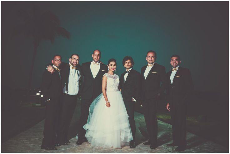 Anita and Naseer's Grand Bollywood Ismaili Cancun beach wedding at Moon Palace BY BigAl Studios, bigalstudios.ca #TorontoWeddingphotography #Indianweddingphotographertoronto #Indianweddingphotographervancouver #MoonPalace #Cancun #Whitegown #couture #walroo15  #bigday #groom #partyanimals #danceoff #underthestars #ido