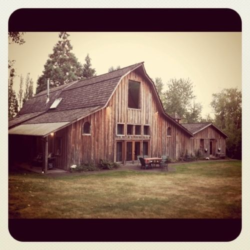 barn house-growing up my Mom's best friend and yoga teacher converted a barn into a home - I love the memories of being there