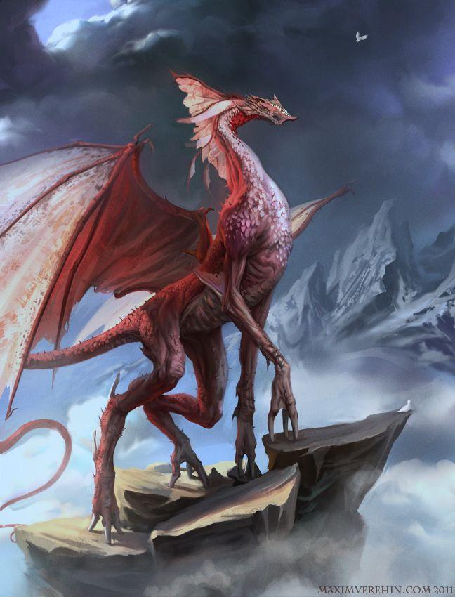Red Dragon by ~Verehin on deviantART