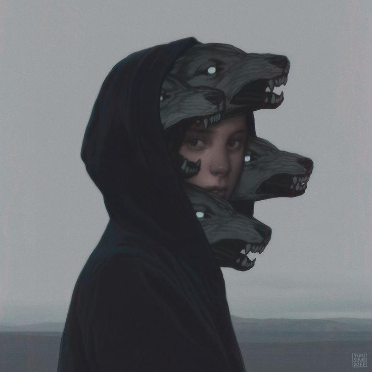 """frrmsd:  Digital Artist: YURI SHWEDOFF """"Wolf Pack"""""""