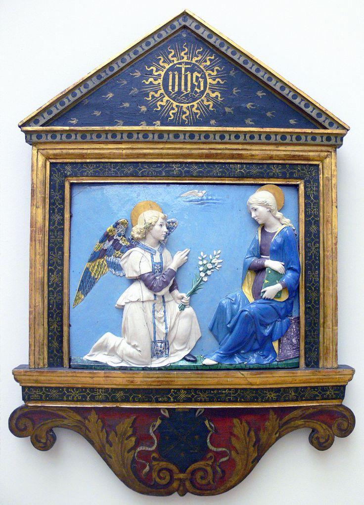 Andrea della Robbia - Annunciation (1490)   by petrus.agricola