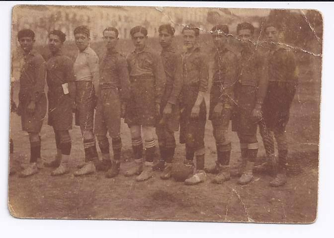 Equipa de futebol do União de Coimbra em 1925