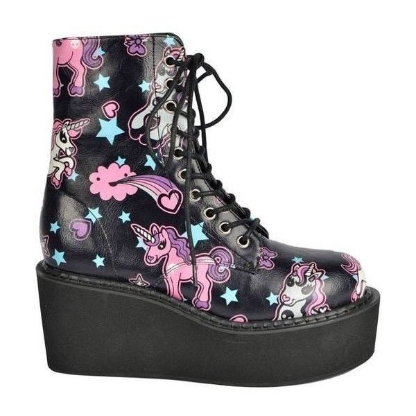 Pastel Goth Boots October 2017