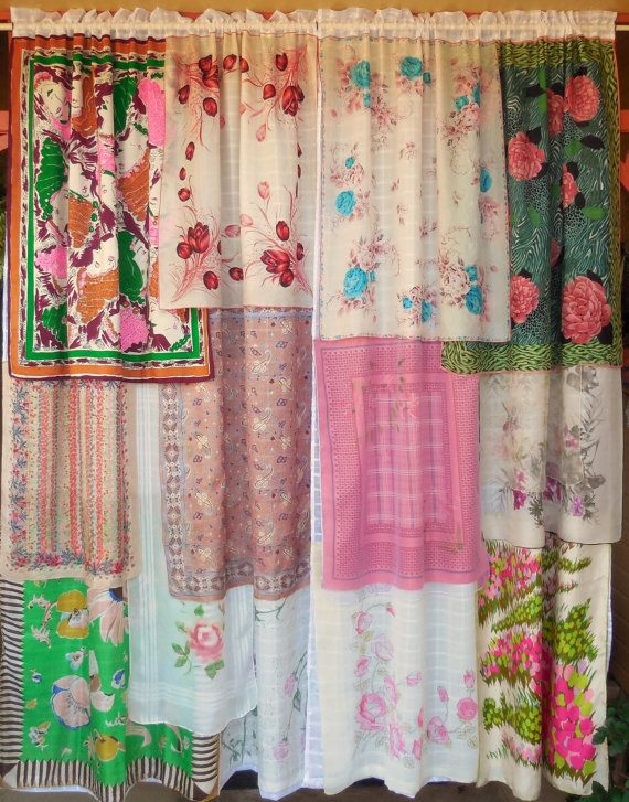 COME To The SUNSHINE Bohemian Gypsy Curtains By BabylonSisters, $245.00