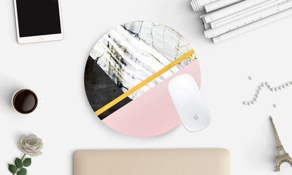 Marmor, Mousepad, Marmor Mauspad, Mauspad, Schreibtischzubehör, Rezeption, Home Office, moderne Büro, Mousepad, Mauspads, Hauptdekor